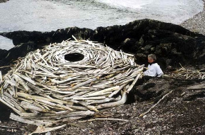 Land-art Andy Goldsworthy
